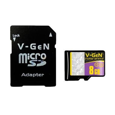 Micro SD Turbo Adapter V-GEN 8 GB